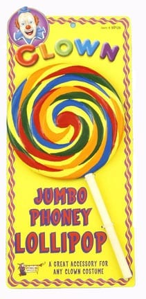 Jumbo Fake Lollipop-0