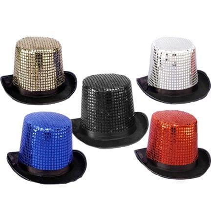 Sequin Top Hat-0
