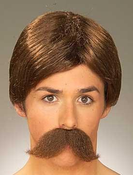 Burt Wig & Beard - Brown-0