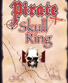 Pirate Skull Ring-0