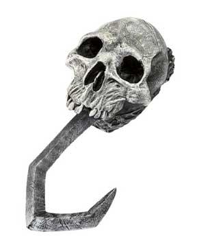 Skull Hand Hook-0
