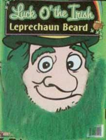 Green Leprechaun Beard-0