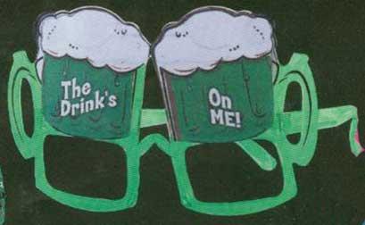 Green Beer Mug Glasses-0