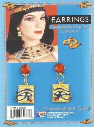 Cleopatra Eye Earrings-0