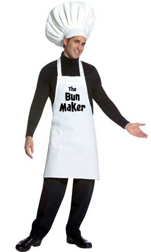 Bun Maker Adult Costume-0