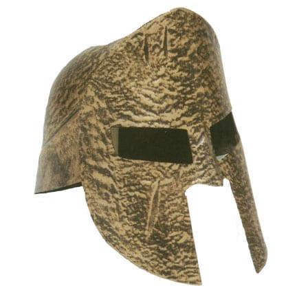 Gold Spartan Helmet-0