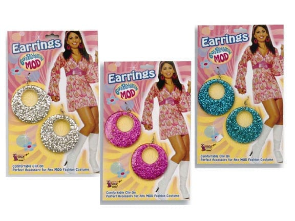 Glitter Mod Earrings-0