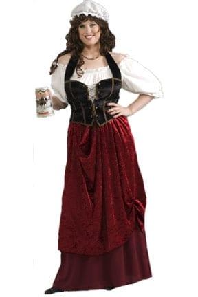 Tavern Wench Plus Size Costume-0