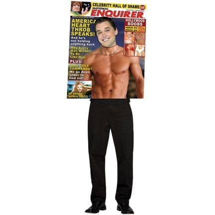 Magazine Enquirer Male Hearthrob Costume-0