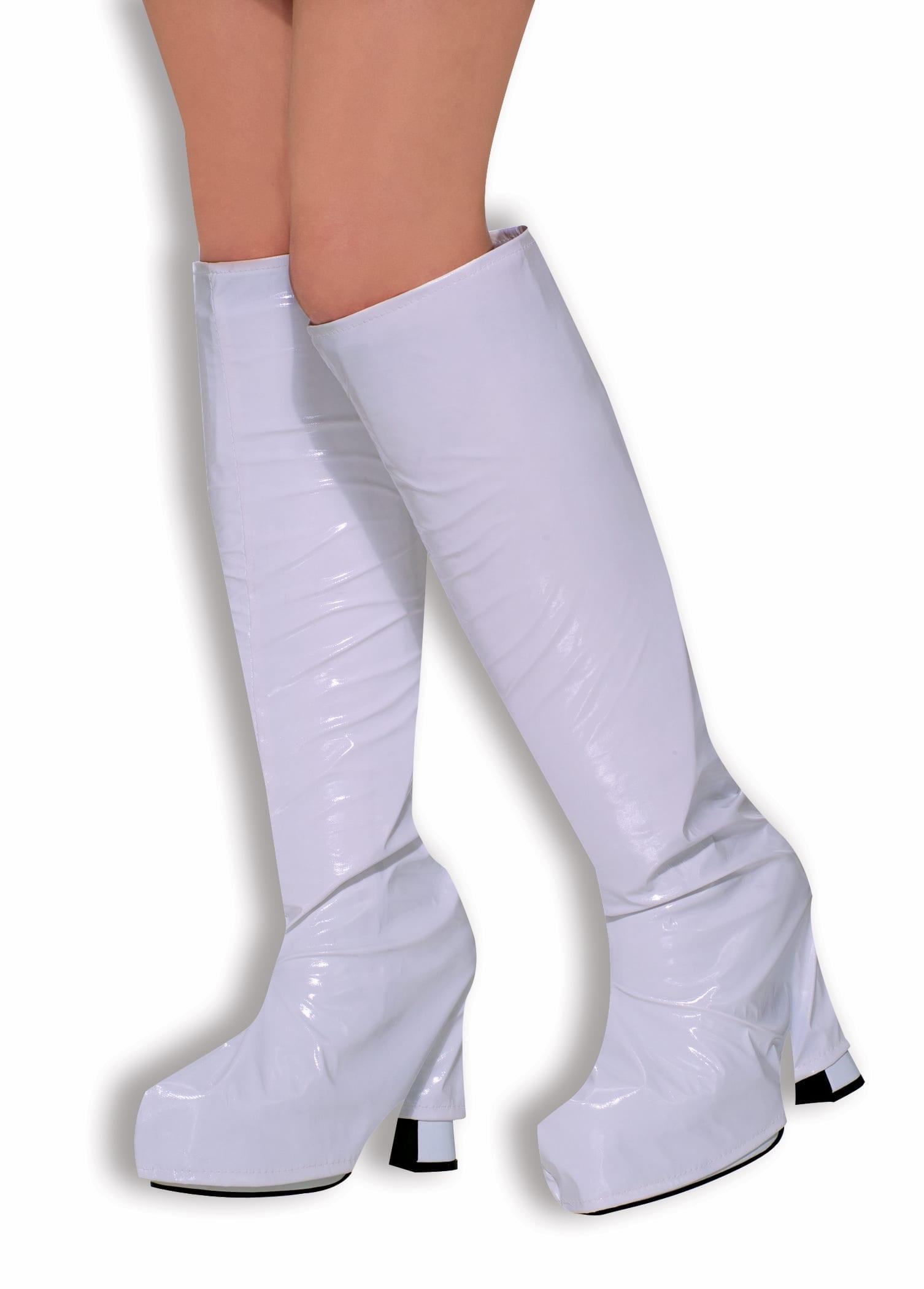 GoGo Boots - Boot tops White-0