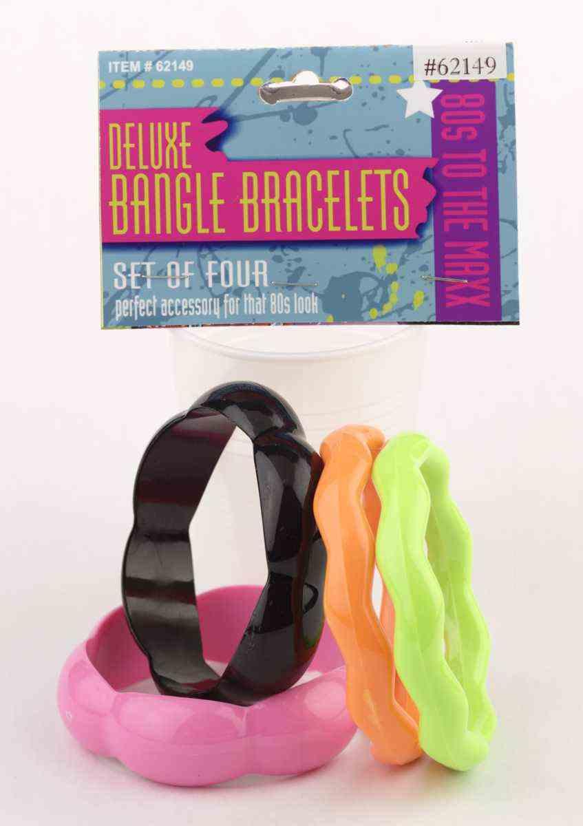 Deluxe Eighties Bangle Bracelets-0