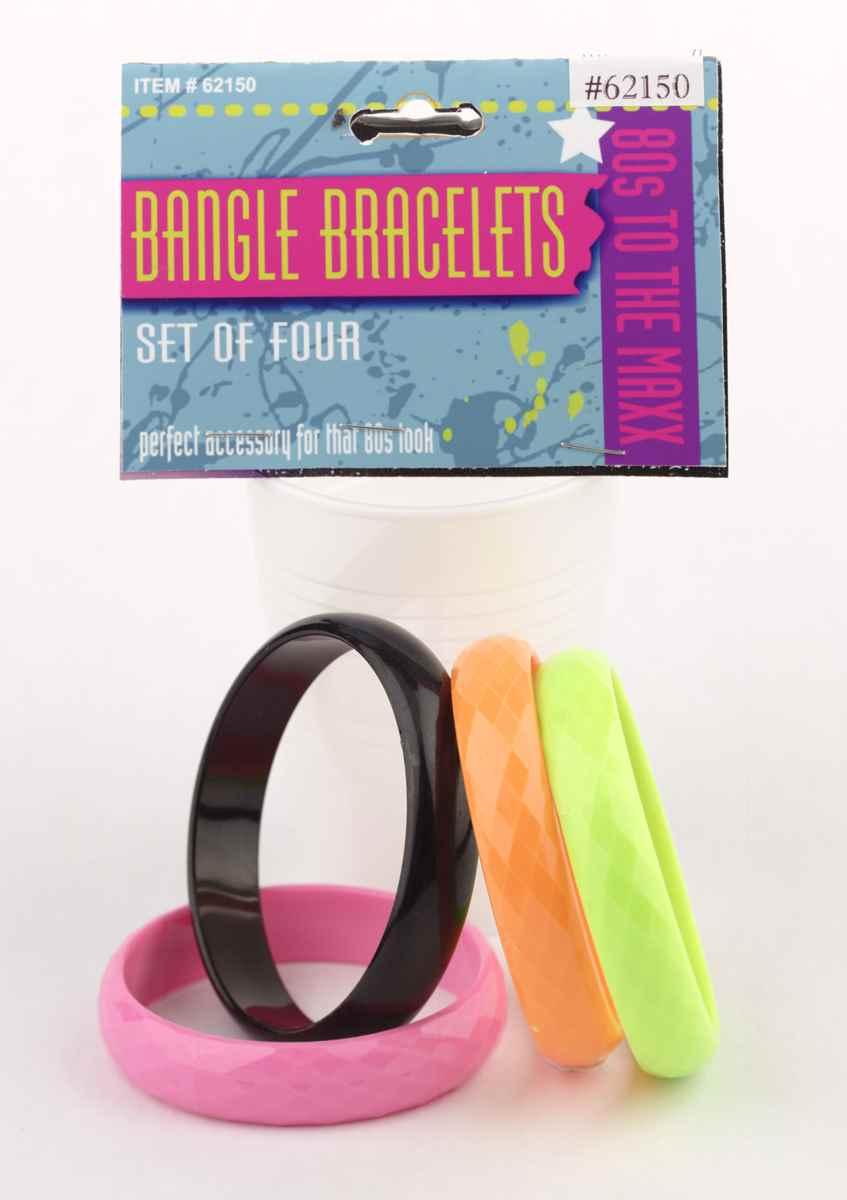 Eighties Bangle Bracelets-0