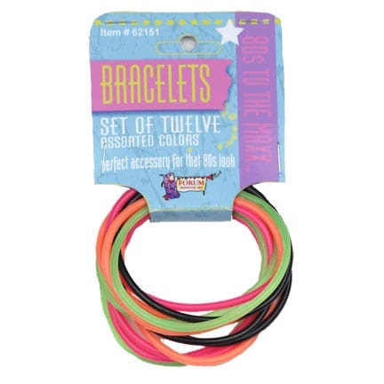 Eighties 12 Piece Bracelet Set-0