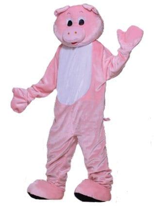 Pig Mascot Costume-0