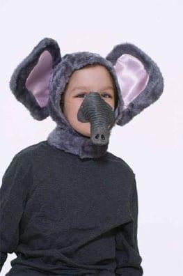 Elephant Hood & Nose Set-0