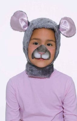 Mouse Hood & Nose Set-0