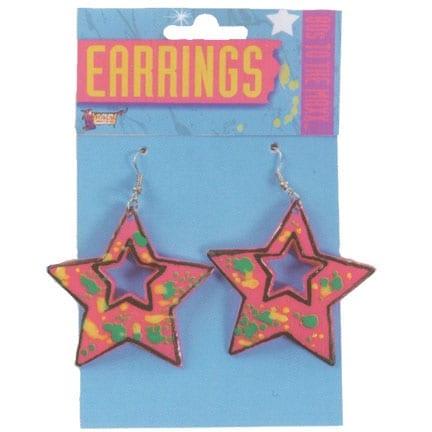 Eighties Star Earrings-0