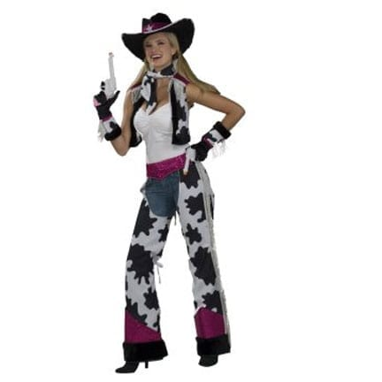 Glamour Cowgirl Costume-0