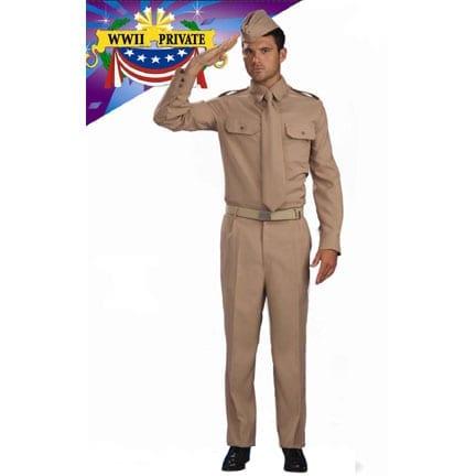 World War II Private Soldier Costume-0
