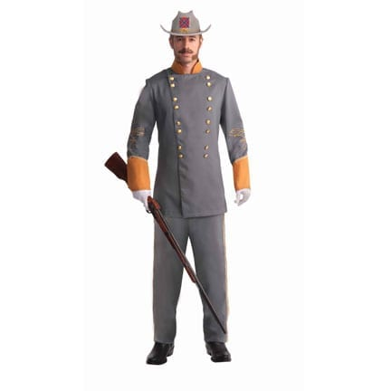 Confederate Officer - Plus Size-0