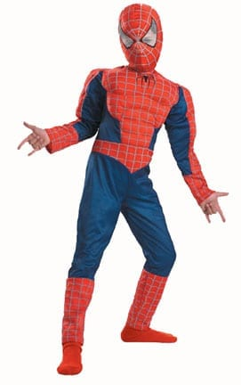 Spiderman 3 Muscle Chest Kids Costume-0