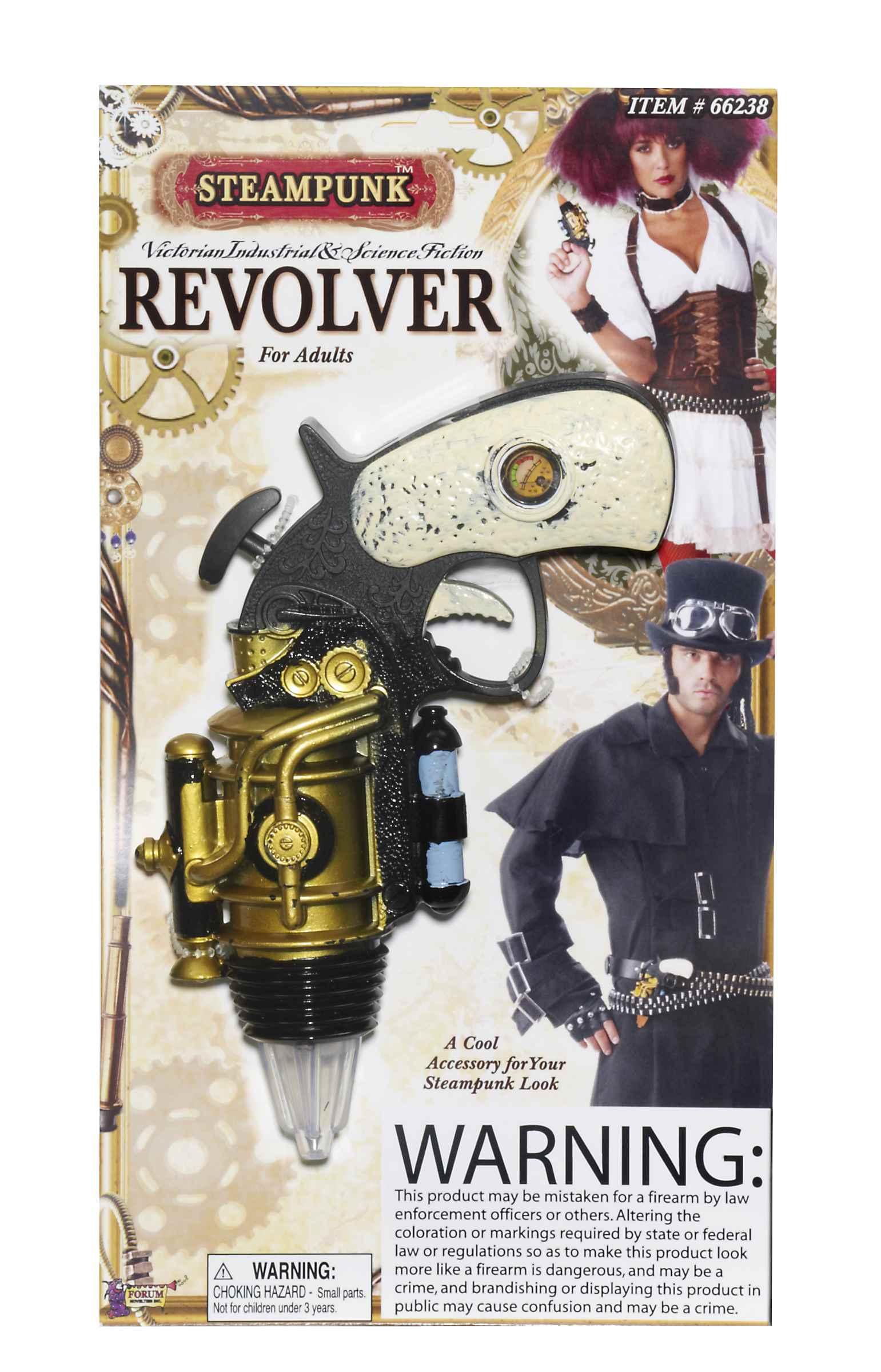 Steampunk Revolver-0