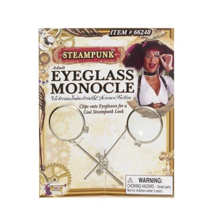 Steampunk Eyeglass Monocle Clip-0