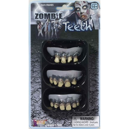 Zombie Rotted Teeth-0