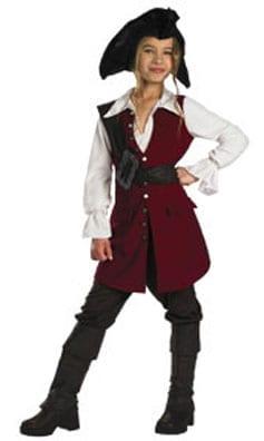 Elizabeth Pirate Children's Costume-0
