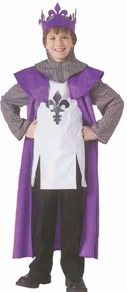 Renaissance King Children Costume-0