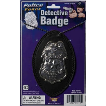 Police Force Badge-0