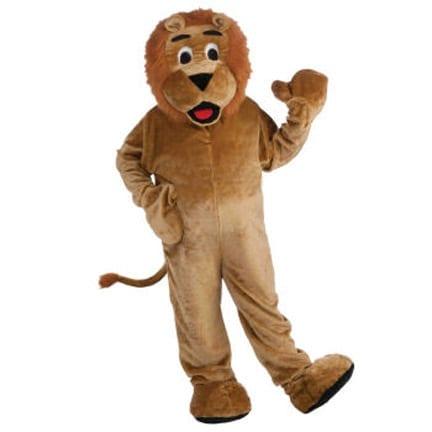 Lion Mascot Costume-0