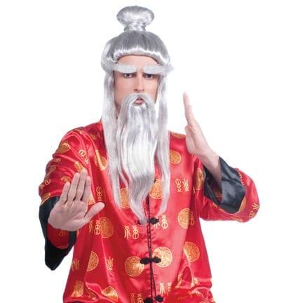 Martial Arts Master Wig-0