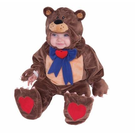Teddy Bear Plush Costume-0