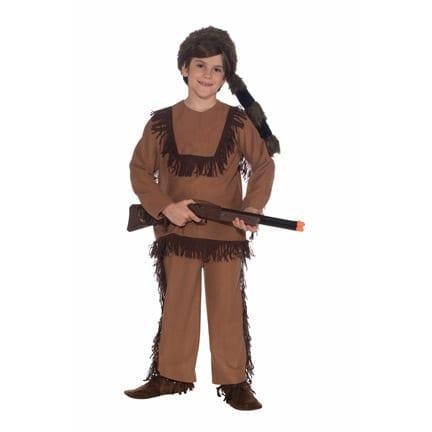 Davy Crockett Kids Costume-0