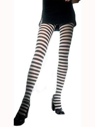 Adult Stripe Tights-0