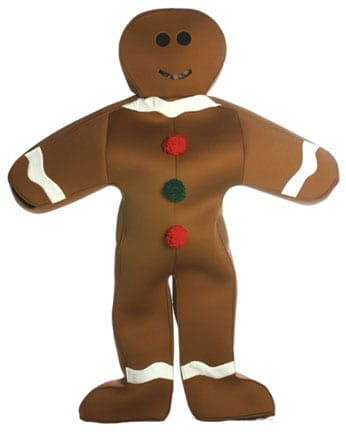 Gingerbread Man Adult Costume-0