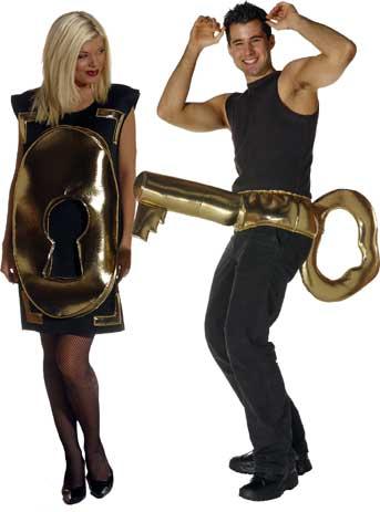 Lock & Key Couple Costume Set-0