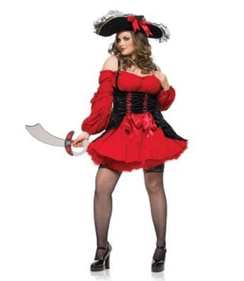 Vixen Pirate Wench Plus Size Costume-0