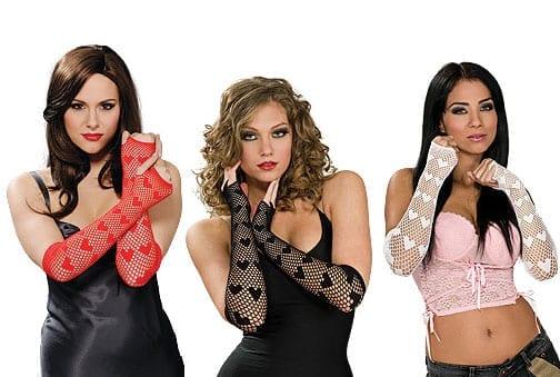 Fingerless Heart Gloves-0