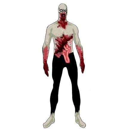 Zombie 2nd Skin Suit-0