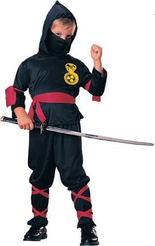 Ninja - Childrens Costume-0