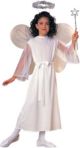 Classic Angel Children Costume-0