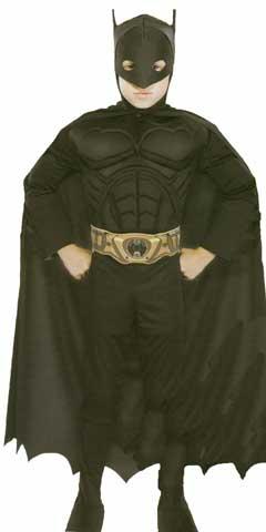 Deluxe Batman Children Costume-0