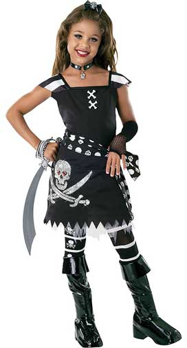 Drama Queens Scar-let Children Costume-0