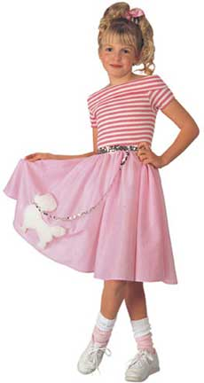 Nifty Fifties Childrens Costume-0