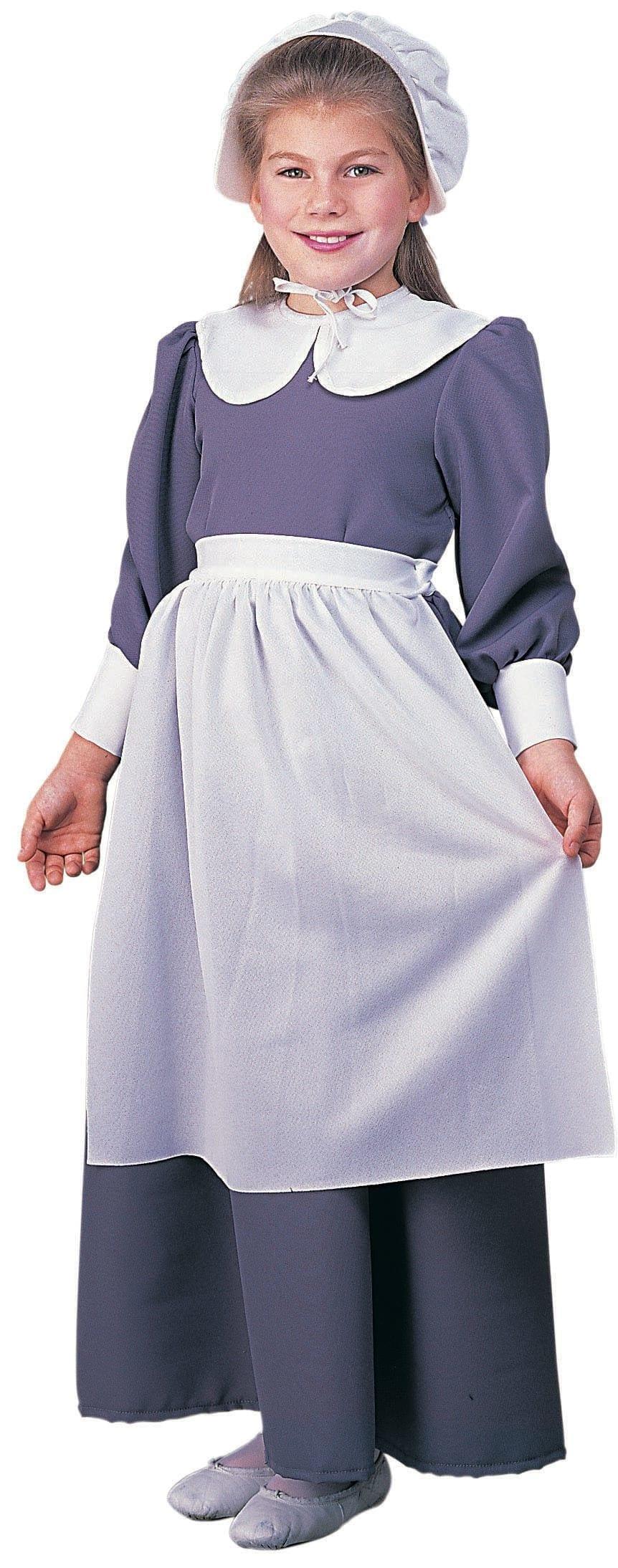 Pilgrim Girl - Child Costume-0