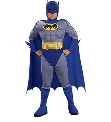 Batman Brave and Bold Deluxe Children's Costume-0