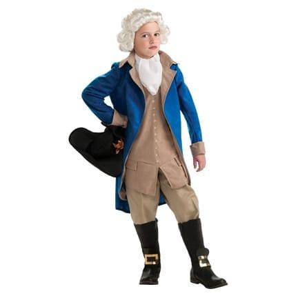 George Washington Kids Costume-0