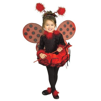 Deluxe Lady Bug Kids Costume-0